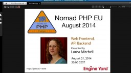 Web Frontend, API Backend
