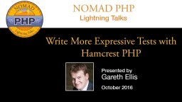 Write More Expressive Tests with Hamcrest PHP