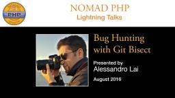 Bug Hunting with Git Bisect